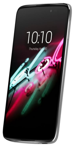 Alcatel One Touch idol 3 Metallic Silver Akilli Telefon