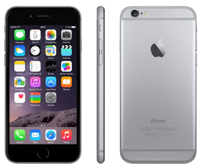 Apple iphone 5S 16GB Space Gray Akıllı Telefon