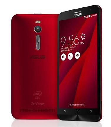 Asus ZenFone 2 64GB Red Dual Sim Akıllı Telefon