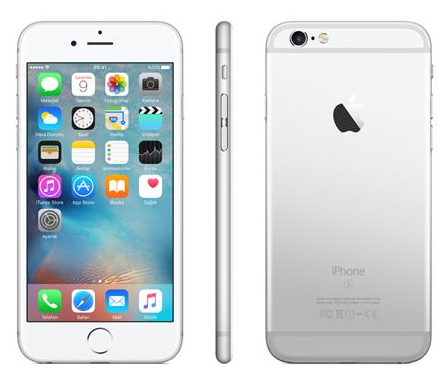 iPhone 6s 128GB Silver Akıllı Telefon