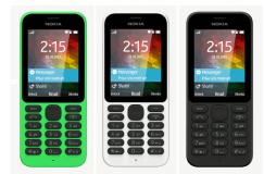 Nokia 215 Black Cep Telefonu