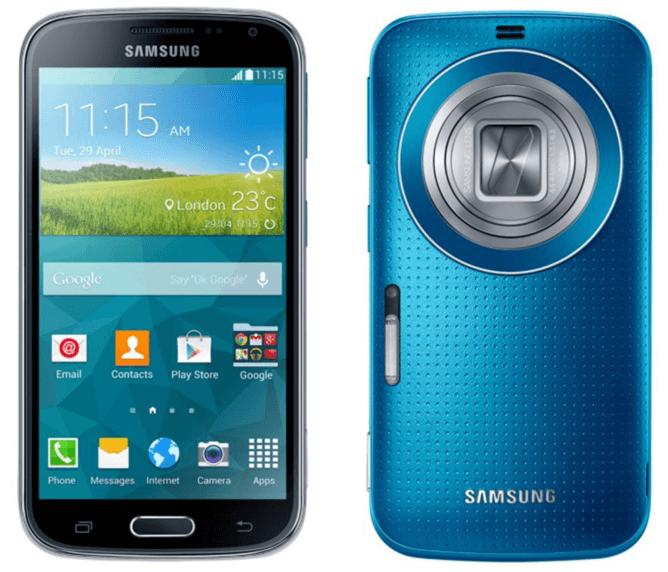 Samsung C1110 Galaxy K Zoom Blue Akıllı Telefon