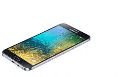 Samsung E700F Galaxy E7 Black Akıllı Telefon
