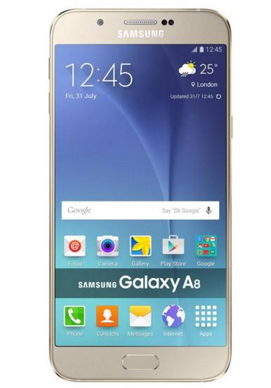 Samsung Galaxy A8 Gold Akıllı Telefon