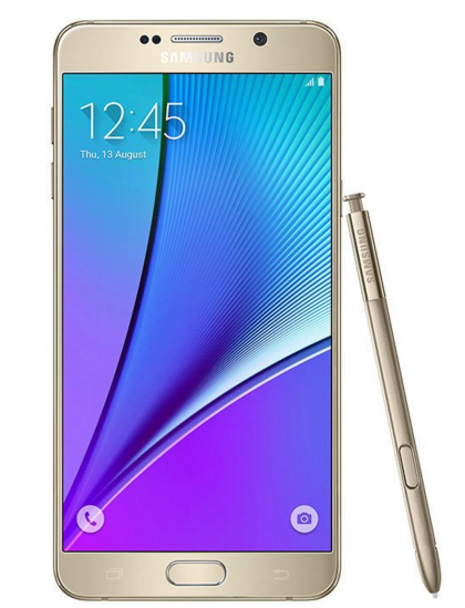 Samsung N920 Galaxy Note 5 Altın Akıllı Telefon