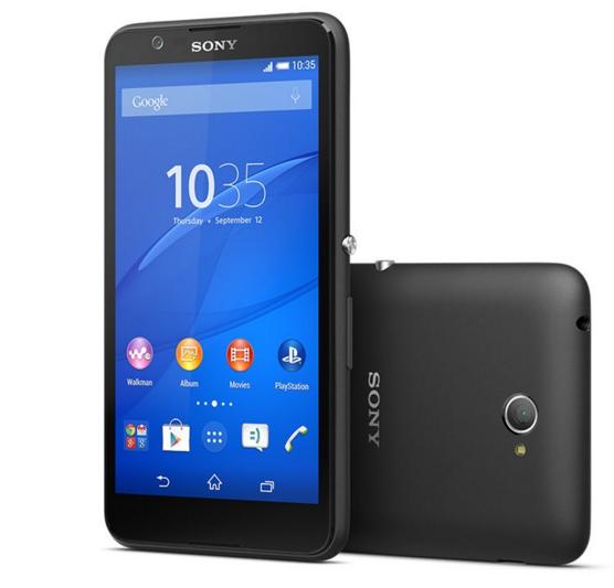 Sony Xperia E4 Siyah Akıllı Telefon