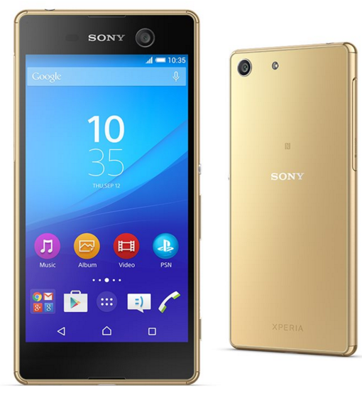 Sony Xperia M5 Altın Renk Akıllı Telefon