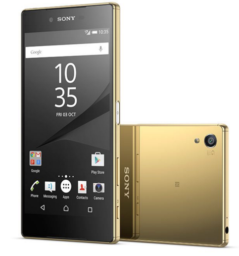 Sony Xperia Z5 Premium Altin Akıllı Telefon