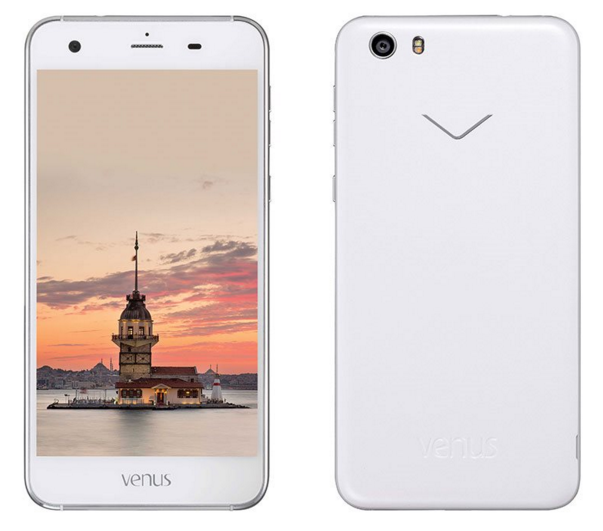 Vestel Venus V3 5570 İnci Beyazı Akıllı Telefon