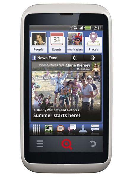 iNQ Cloud Touch Cep Telefonu