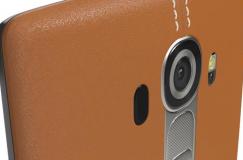 LG G4 Kahverengi Gerçek Deri Akıllı Telefon