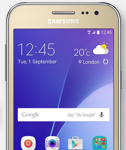 Samsung Galaxy J2 Beyaz Akıllı Telefon