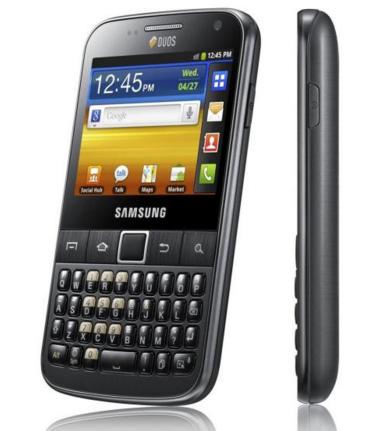 Samsung Galaxy Y Pro B5510 Akıllı Telefon
